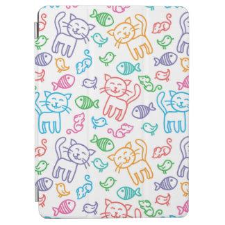 cat pattern iPad air cover