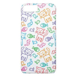 cat pattern iPhone 8 plus/7 plus case