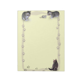 Cat Paw Frame Notepad