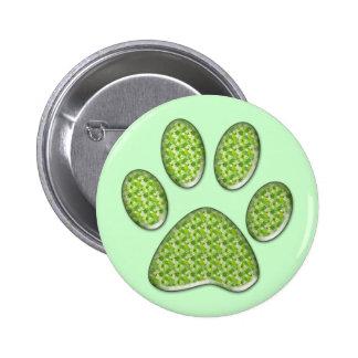 cat paw friend society pin