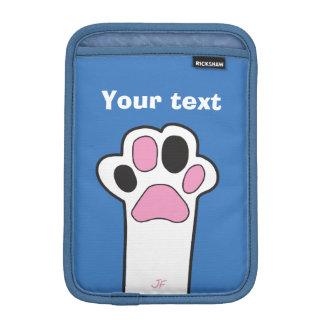 Cat paw iPad mini sleeve