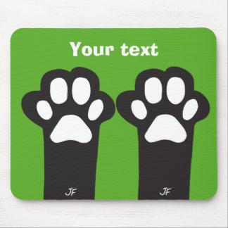 Cat paw mouse mat