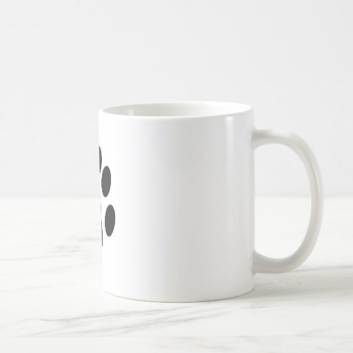 Cat Paw Print Mugs