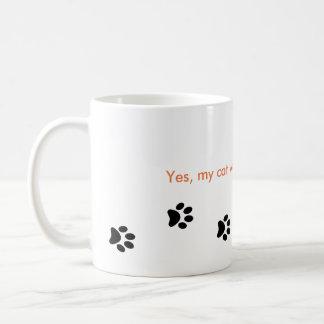 Cat Paw Print's Mug