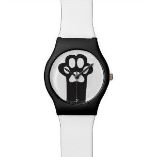 Cat paw watch