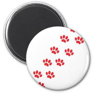 Cat Paws 6 Cm Round Magnet