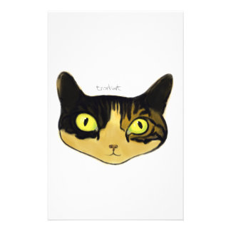 Cat Personalised Stationery