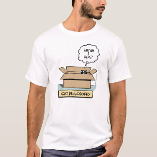 Cat Philosophy Basic T-shirt