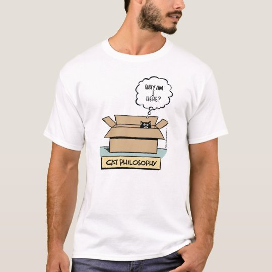 Cat Philosophy Basic T-shirt