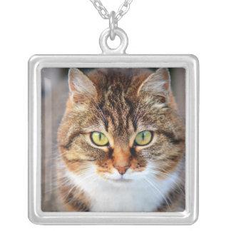 Cat Photo Custom Necklace