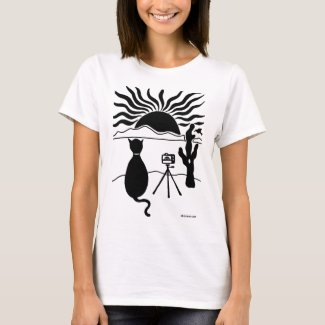 Cat Photographer Southwest T-Shirt