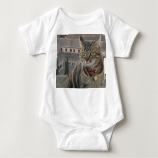 Cat Photography Baby Jersey Bodysuit, White Baby Bodysuit