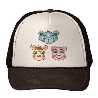 Cat Piggy and Cow hat - TBA