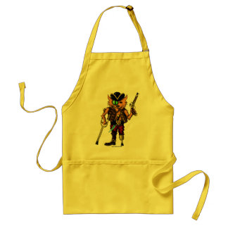 Cat pirate funny apron