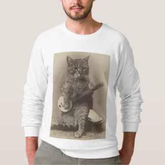 Cat Playing the Banjo T-shirts & sweatshirts
