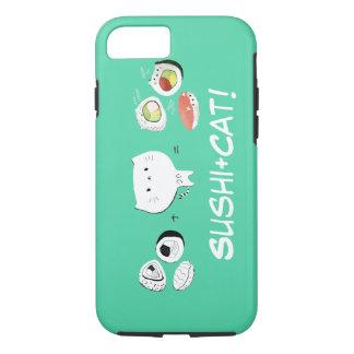 Cat plus Sushi equals Cuteness! iPhone 8/7 Case