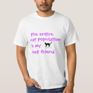 Cat Population T-Shirt