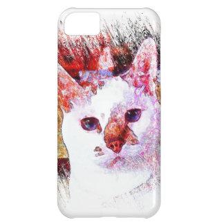 CAT PORTRAIT ANGEL iPhone 5 Case-Mate Case