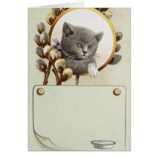 CAT PORTRAIT CARD