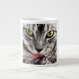 Cat Portrait Large Coffee Mug