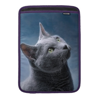 Cat Portrait MacBook Sleeve