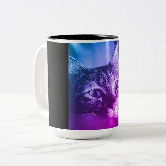 cat portrait mug