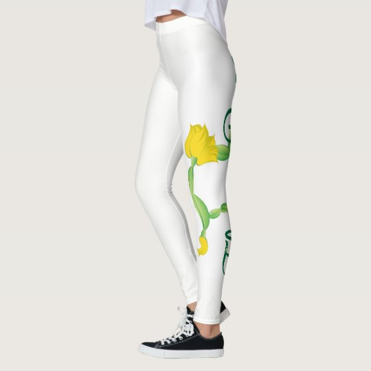 Cat Pose Leggings (Flower Pose Logo)