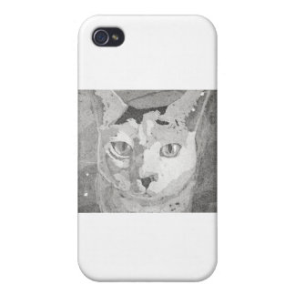 Cat Print Cases For iPhone 4