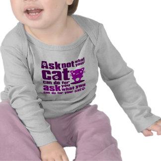 Cat_Print T Shirts