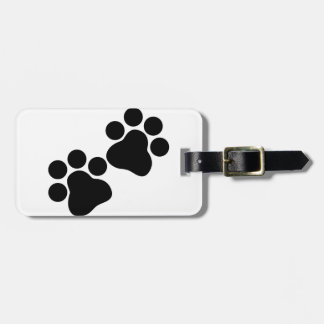 Cat Prints Luggage Tag
