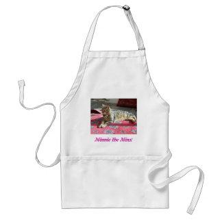Cat Products: Minnie the Minx Standard Apron