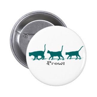 Cat Prowl Pinback Buttons