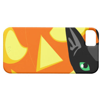 Cat Pumpkin Halloween Barely There iPhone 5 Case