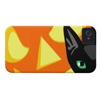 Cat Pumpkin Halloween iPhone 4 Cover
