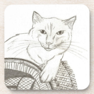 Cat Ragdoll Portrait Coasters - Set of 6