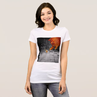 Cat, Rain and Snail T-Shirt