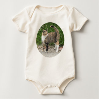 Cat  'Red' is angry Baby Bodysuit