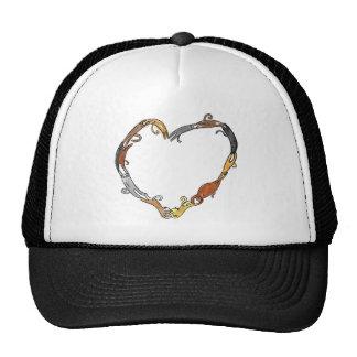 cat ring in love~ mesh hats