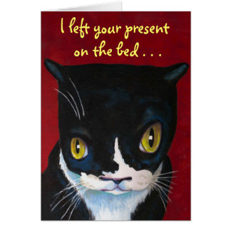Cat s Birthday SURPRISE Greeting Cards