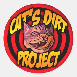 CAT' S DIRT Project Sticker