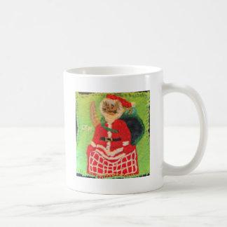 Cat Santa Mug