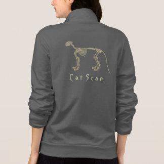 Cat Scan Fleece Zip Jogger Jacket