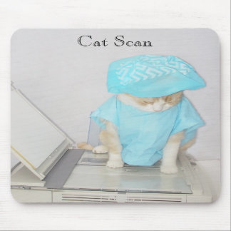 Cat Scan Mouse Pads