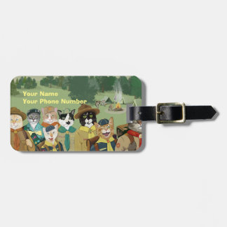 Cat Scouts Luggage Tag