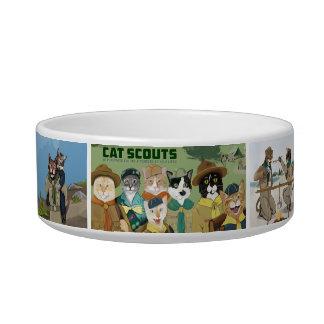 Cat Scouts Official Pet Food Bowl