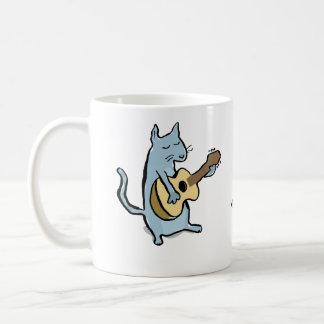 cat serenade coffee mug