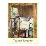 "Cat serves a cup of ""Tea and Sympathy"""
