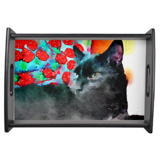 Cat Serving Tray