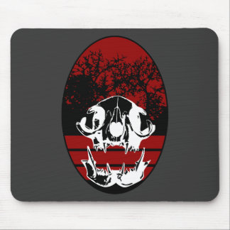 Cat Shield Mouse Pad
