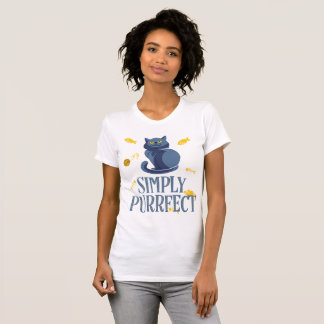 Cat Shirts For Women Simply Purrfect